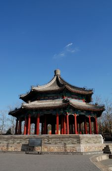 Free Pavilion In Chinese Style Stock Image - 8698731