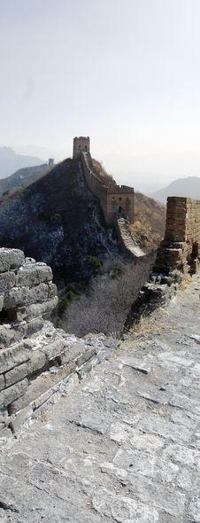 Free Si Ma Tai Great Wall Stock Image - 8698771