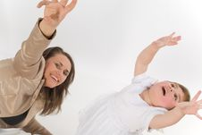 Free Familie Stock Photography - 8699052