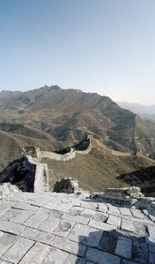 Free Si Ma Tai Great Wall Royalty Free Stock Images - 8699479