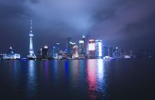 Free Night View Of City Royalty Free Stock Photography - 8699487