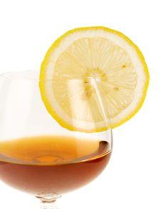 Free Cognac. Stock Photos - 8699553