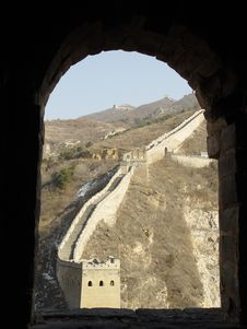 Free Si Ma Tai Great Wall Stock Images - 8699604
