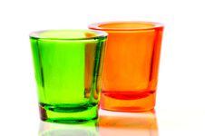 Free Color Glass Royalty Free Stock Photos - 8699698