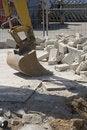 Free Mechanical Shovel Excavator 2 Stock Photos - 877103