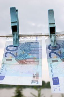 Free Twenty Euros Stock Image - 870111