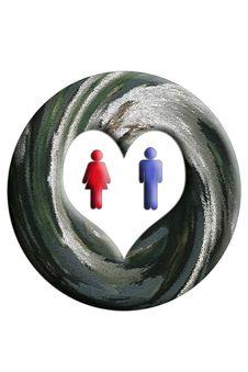 Free Love Symbol Royalty Free Stock Image - 870156