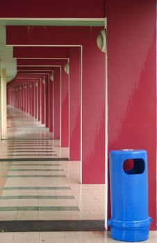 Free Colorful Corridor Stock Images - 871884