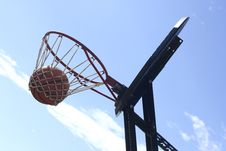 Free Basketbal Lhung Royalty Free Stock Photo - 872265