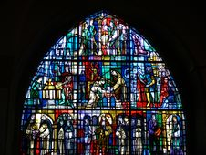 Free Church Window Royalty Free Stock Images - 872339