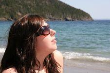 Free Woman On Beach Posing 2 Stock Photo - 873380