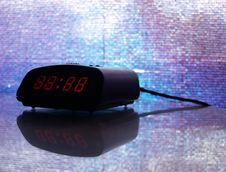 Free Digital Alarm Clock (digits Adjustable) Stock Image - 873441