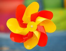 Free Multicolor Pinwheel Stock Photography - 874152