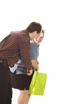 Free Couple Shopping Royalty Free Stock Photo - 874265