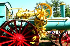 Steam Tractor Royalty Free Stock Photography