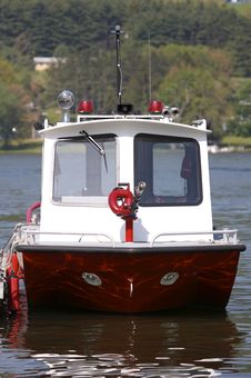 Free Fire Rescue Boat Stock Photos - 875573