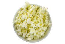Free Isolated Popcorn Bowl Stock Photo - 875950