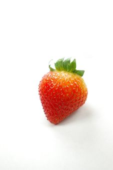 Free Isolated Strawberry Royalty Free Stock Photo - 876005