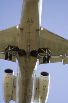 Belly Of A Jet Stock Images