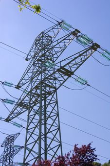 Free High Voltage Pylon 1 Stock Image - 877391