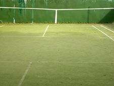 Free Tennis Training Wall Stock Images - 877514