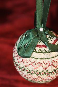 Handmade Ornament Stock Image