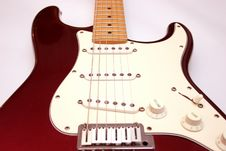 Free Electric Guitar Royalty Free Stock Photography - 879337