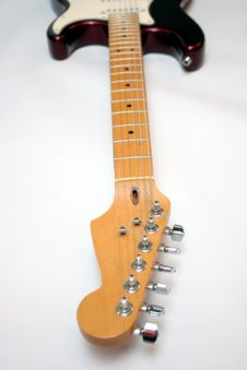 Free Electric Guitar Royalty Free Stock Photos - 879448