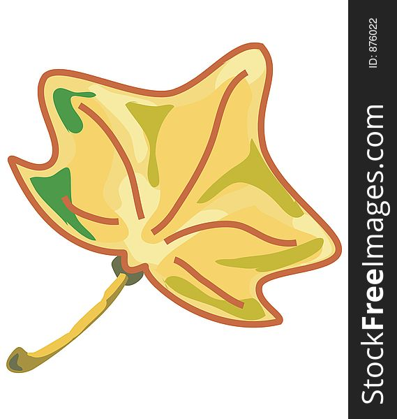Dry leaf.