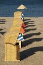 Free Beach-baskets Stock Image - 8707791
