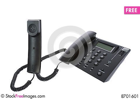Free Business Phone Close Up Stock Image - 8701601