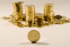 Free Euro (20 Cent) Royalty Free Stock Photo - 8701195
