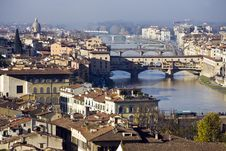 Free Florence, Panorama Royalty Free Stock Photography - 8702377