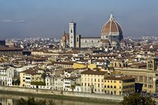 Free Florence, Panorama Stock Photo - 8702490