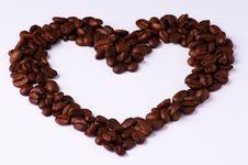 Free Coffee Heart Stock Images - 8702834
