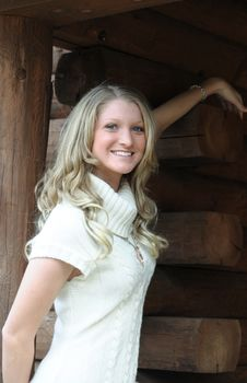 Free Blond Teen Outdoors Stock Photo - 8703130