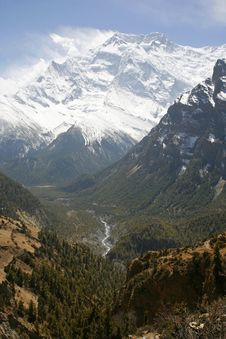 Free Himalayan Valley Royalty Free Stock Images - 8703379