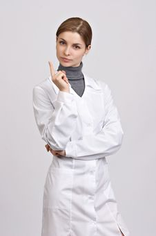 Free Young Beautiful Doctor Stock Photo - 8703530