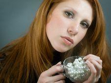 Free Portrait Of Beautiul Girl Stock Image - 8703951