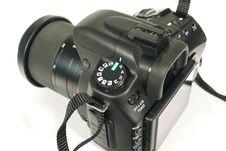 Free Black Reflex Camera Stock Photo - 8704060