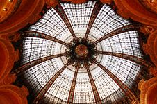 Free Ceiling In Galleries Lafayette V2 Royalty Free Stock Image - 8704376