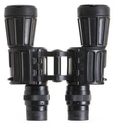Free Big Binoculars Stock Photography - 8704482