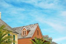 Free Roofs Royalty Free Stock Photo - 8705175