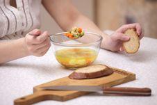 Free Soup Stock Image - 8705801