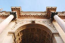L Arc De Triomphe Du Carrousel Royalty Free Stock Images