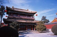 Free China Classical Building Royalty Free Stock Photo - 8707005