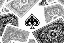 Free Ace Of Spades Stock Images - 8707524