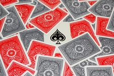 Free Ace Of Spades Royalty Free Stock Image - 8707666