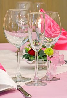 Free Decorated Table Royalty Free Stock Photography - 8707867