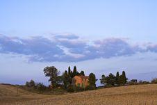 Free Tuscan Landscape Royalty Free Stock Image - 8708006